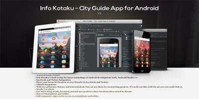 Info Kotaku - City Guide App Source Code