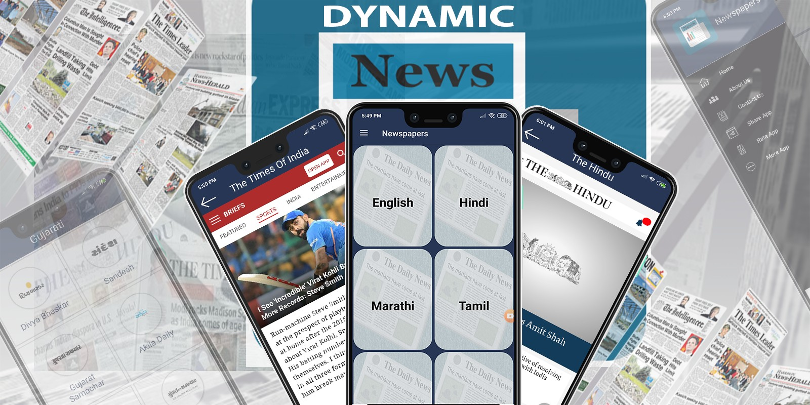 Dynamic News Papers - Android App Template