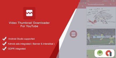 Video Thumbnail Downloader - Android App Template