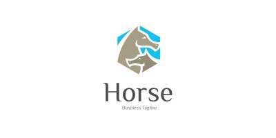 Horse Friend Logo Template
