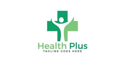 Health Plus Logo Design