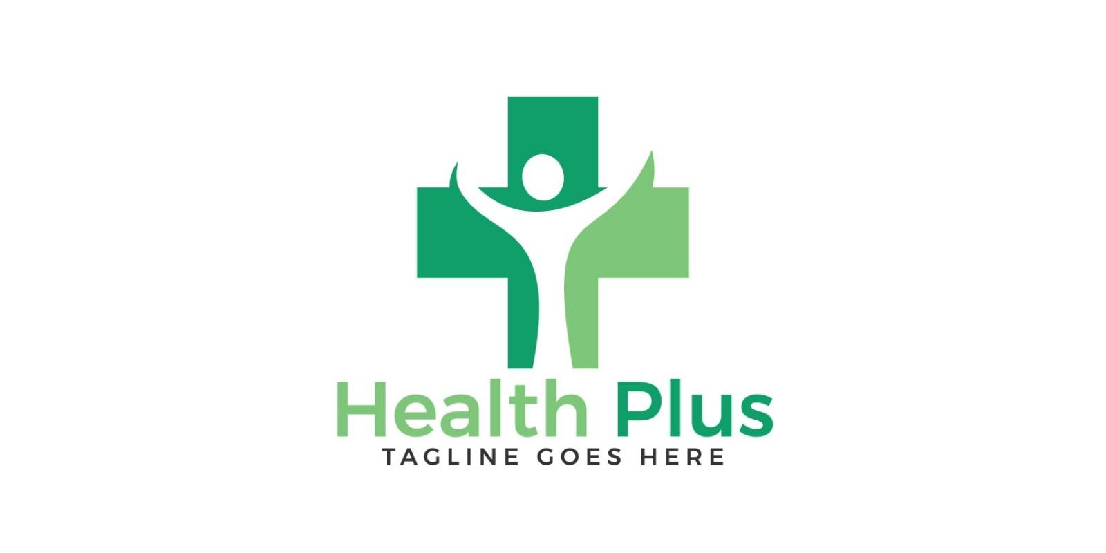 Health Plus Logo Design