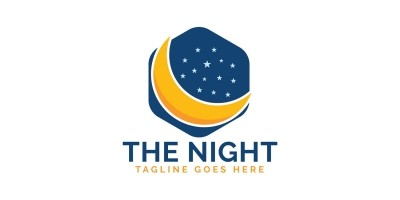 The Night Logo design.