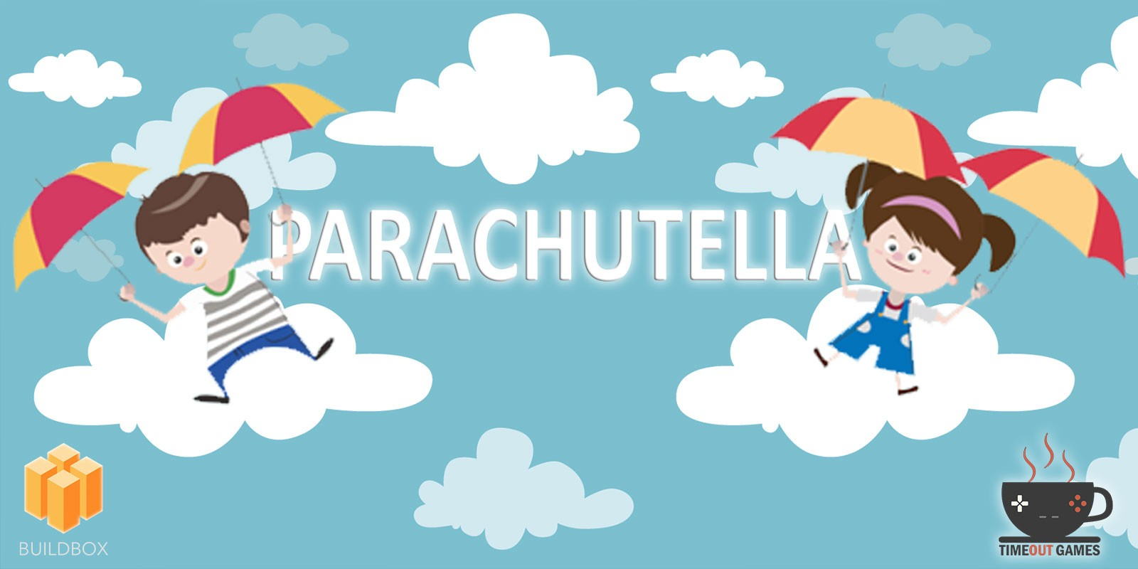 Parachutella - Full Buildbox Game