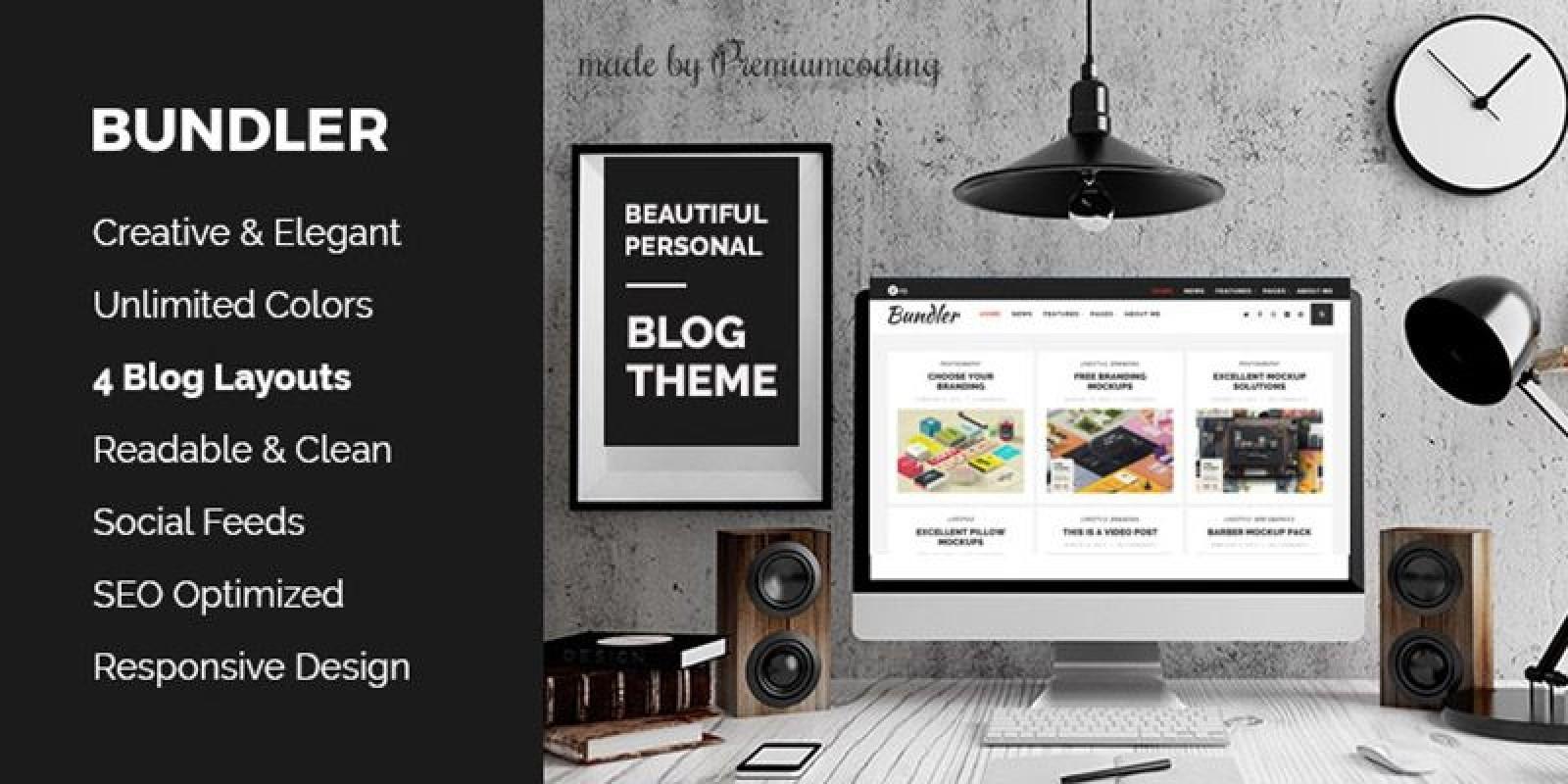 Bundler - WordPress Blog Theme