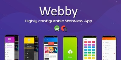 Webby - Highly Configurable Android WebView App