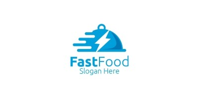 Fast Food Restaurant or Cafe Logo