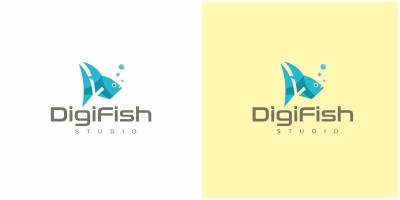 Gigital Fish Logo
