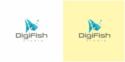 Gigital Fish Logo