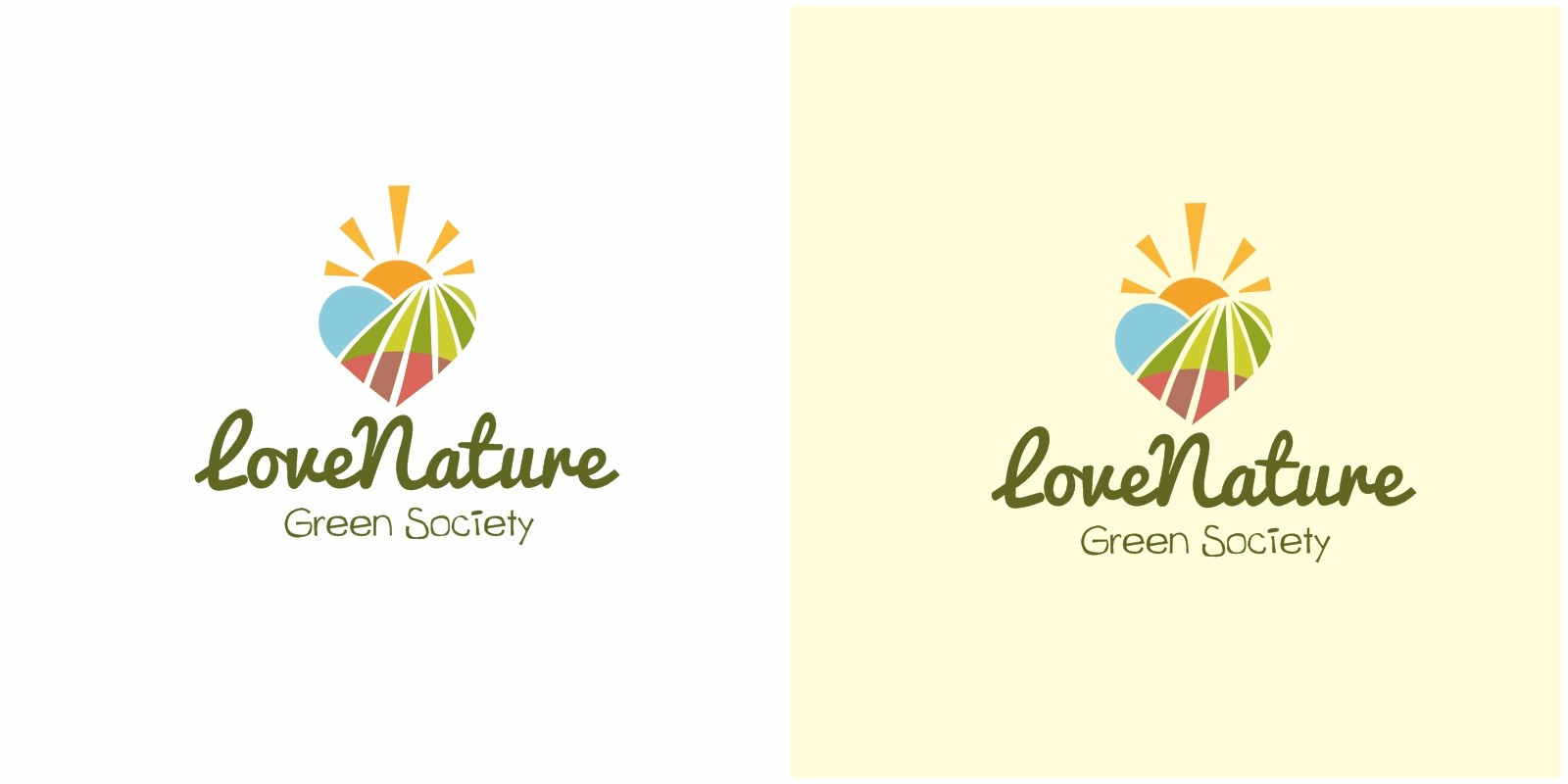Love Nature Logo