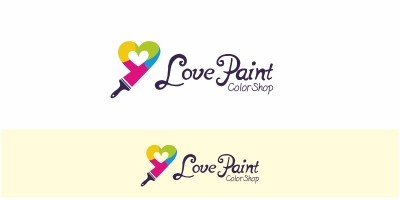 Love Paint Logo