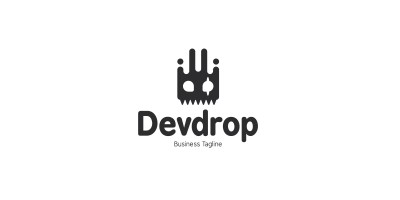 Drop Devil Logo Template