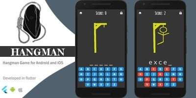 Hangman Game - Flutter Template