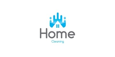 Home Clean Logo Template