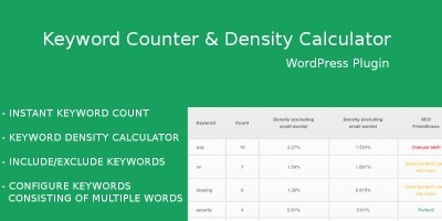 Keyword Counter WordPress Plugin