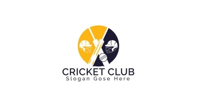 Cricket Club Logo Design