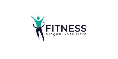 Fitness Human Logo Design