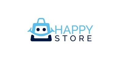 Happy Store Logo Design