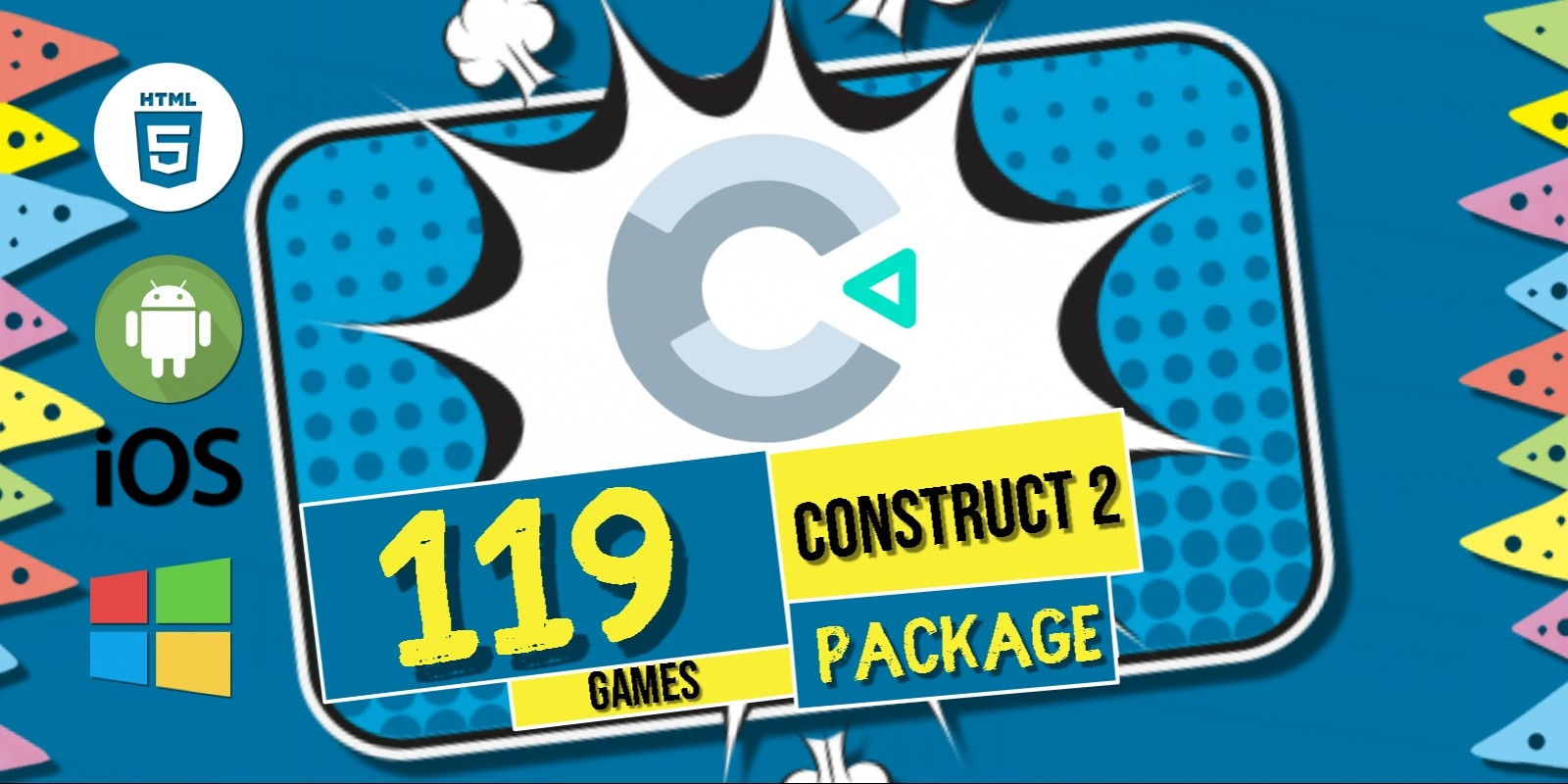 119 Games Super Package Bundle Construct 2 Capx