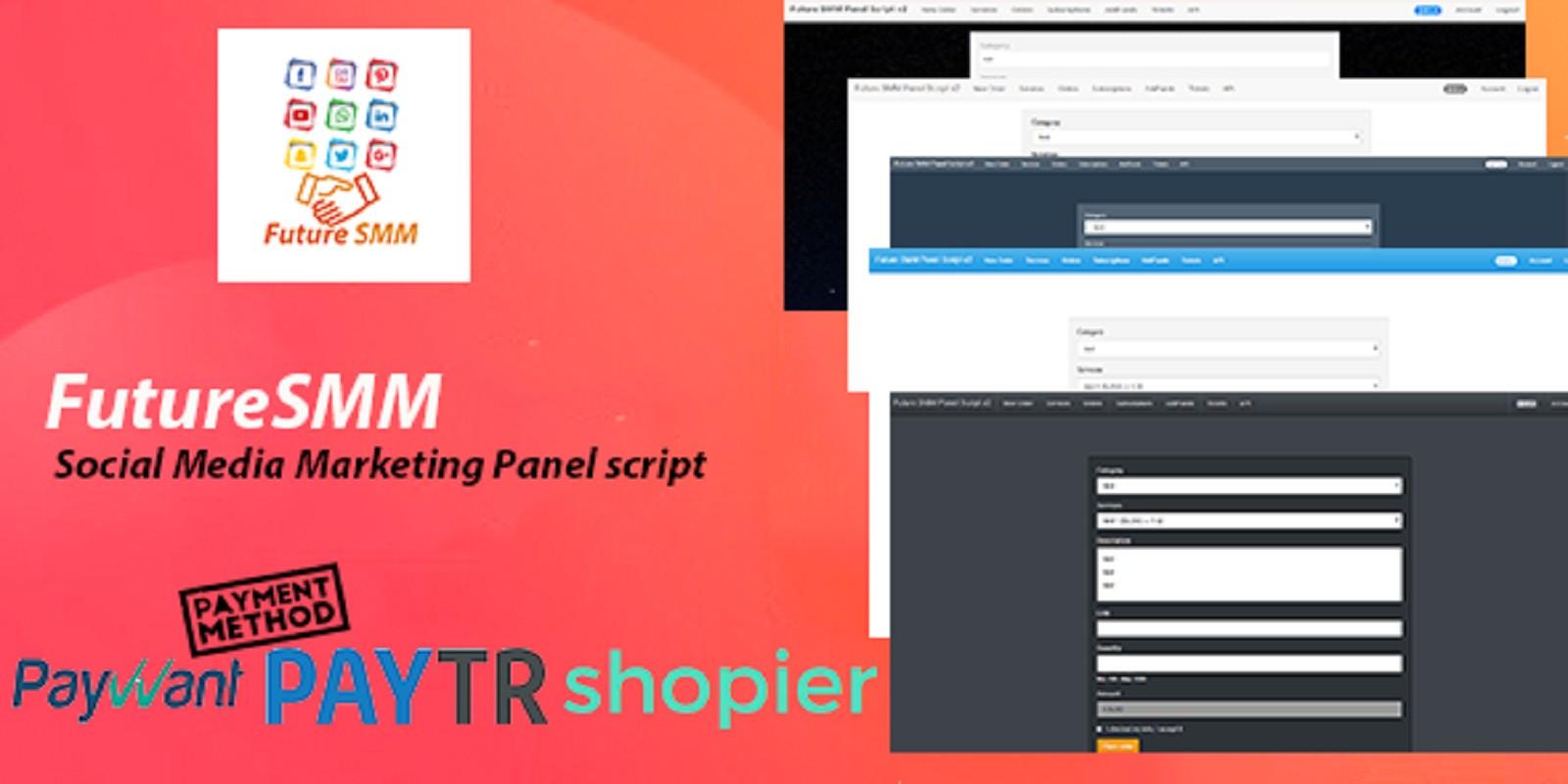 FutureSMM – Social Media Marketing Panel script