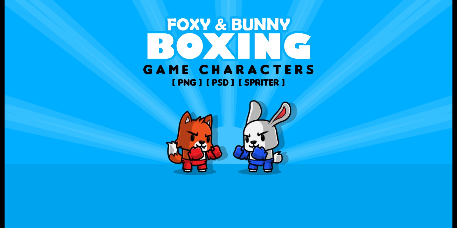 Foxy & Bunny - Game Characters