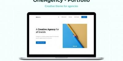 OneAgency - Portfolio HTML Template