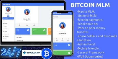 Bitcoin MLM Software PHP