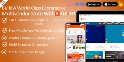 Ecommerce Marketplace With Android And iOS App