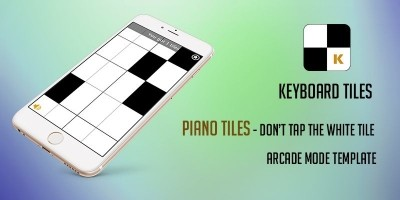 Keyboard Tiles Corona Game Template