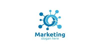 Fast Marketing Financial Advisor Logo Design