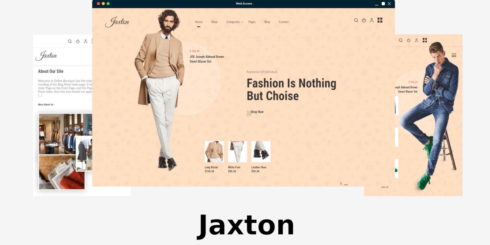 Jaxton WordPress Theme