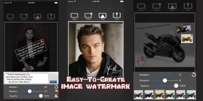 CWaterMark - iOS App Template