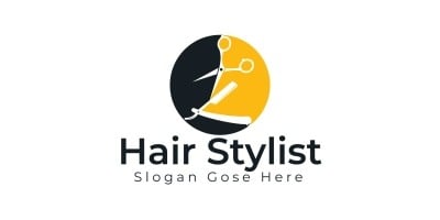 Hair Stylist Logo Design
