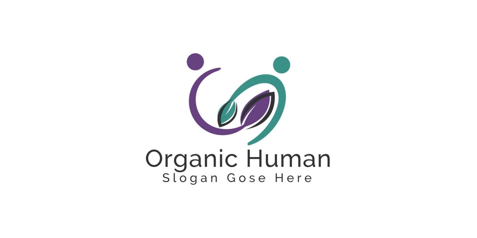 Organic Human Logo Design