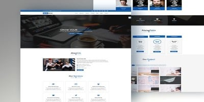 S-Biz - Corporate Business Template