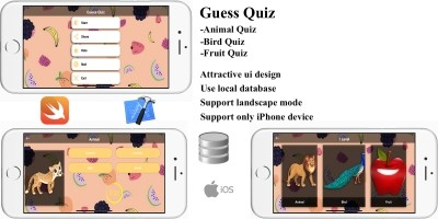 Guess Quiz - iOS Source Code