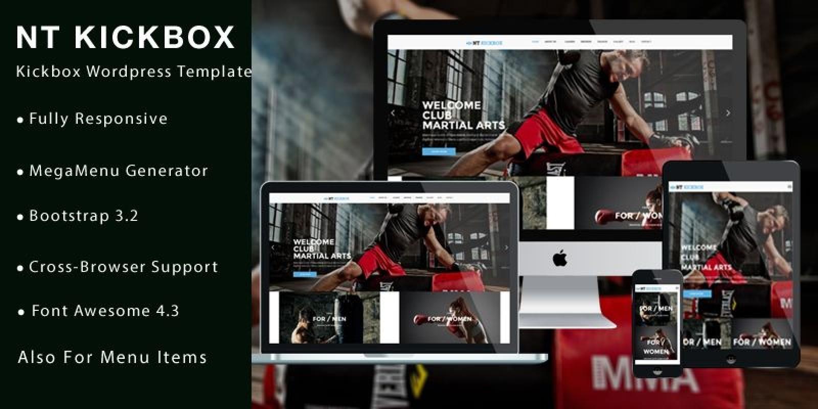 NT Kickbox – Kickboxing WordPress Theme
