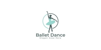 Ballet Dance Logo Design