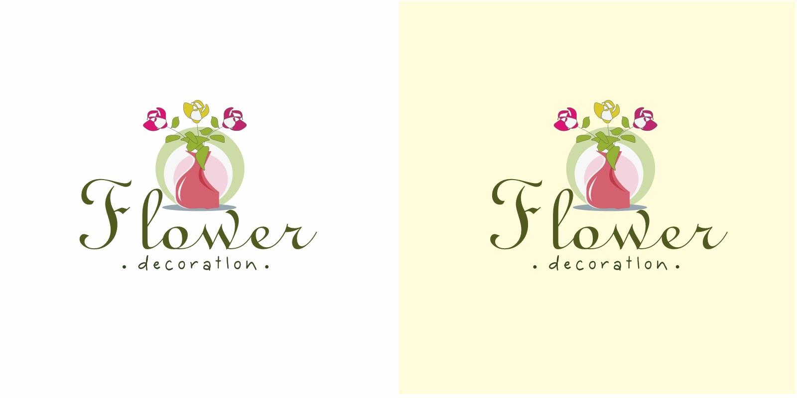 Flower Decoration Logo