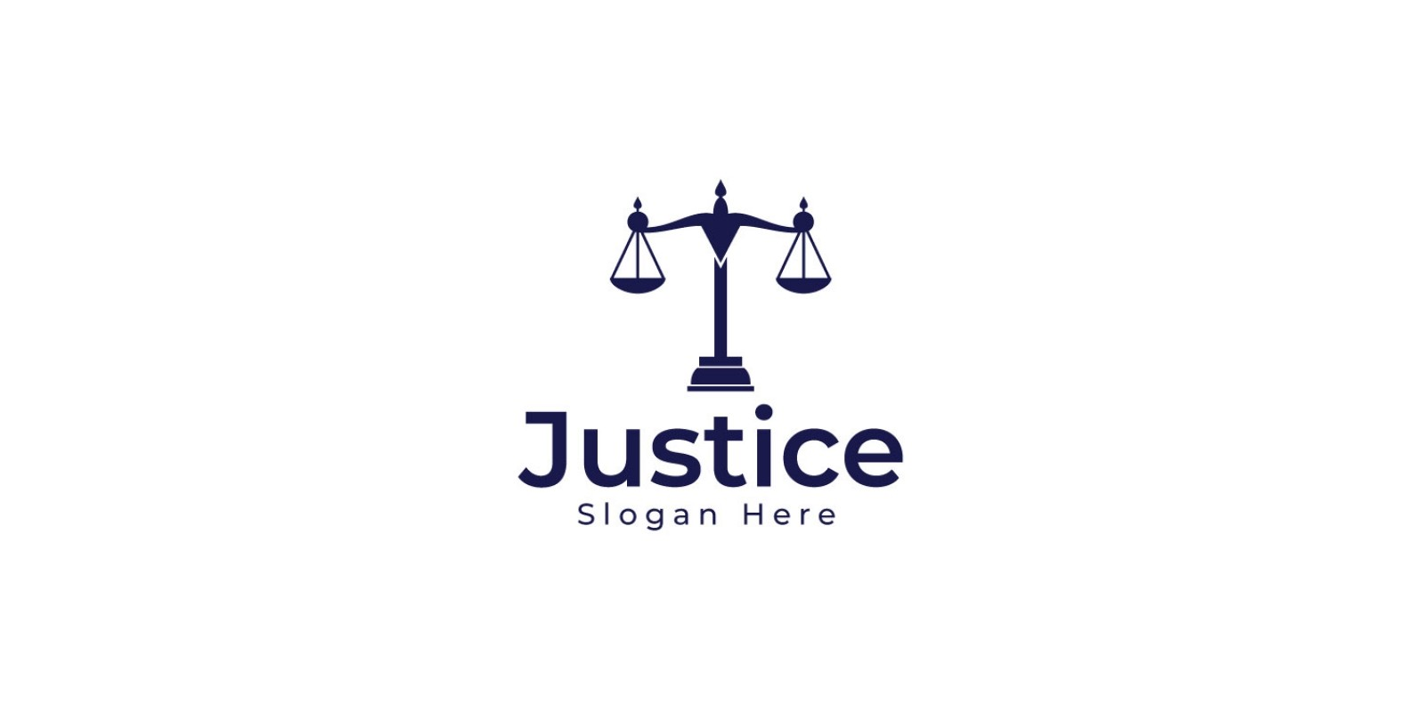 Justice And Law Logo Design