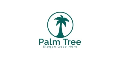 Palm Tree Logo Design