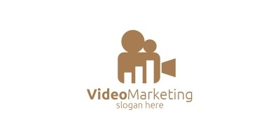 Video Marketing Financial Advisor Logo Design