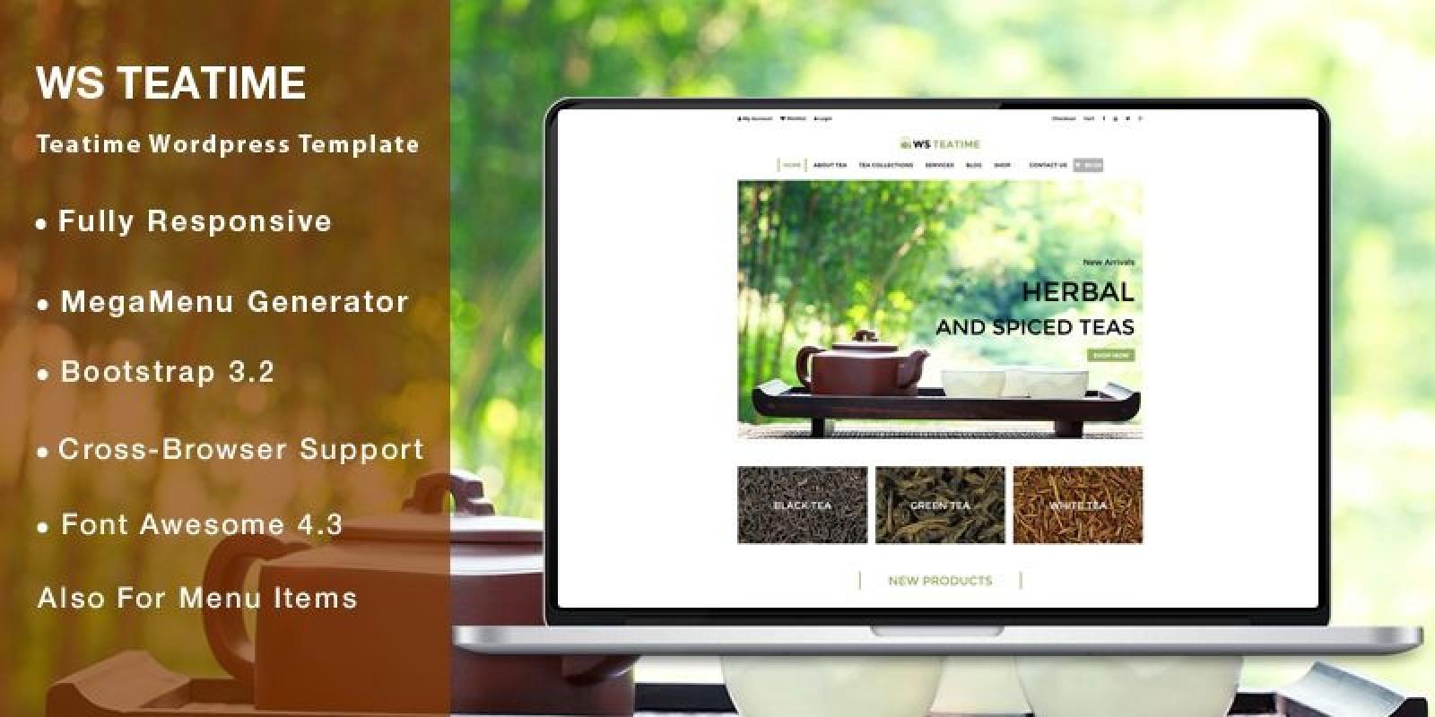 WS Teatime - WooCommerce WordPress Theme