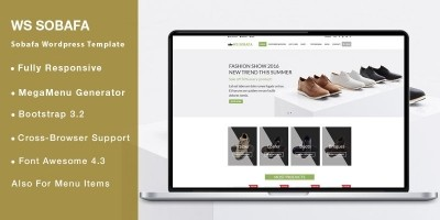 WS SOBAFA – Shoes Store WooCommerce Theme
