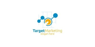 Target Marketing Financial Advisor Logo Design