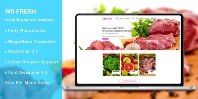WS Fresh – Grocery WooCommerce Theme