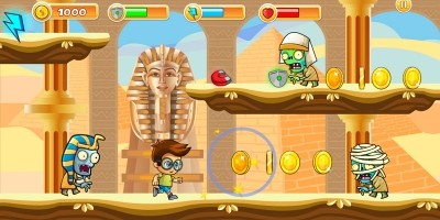 Escape From Egypt Platformer Game Assets