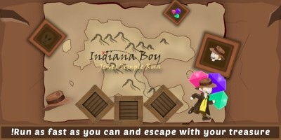 Indiana Boy Runner Game - Unity Complete Project