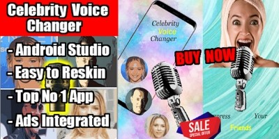 Celebrity Voice Changer Android Application
