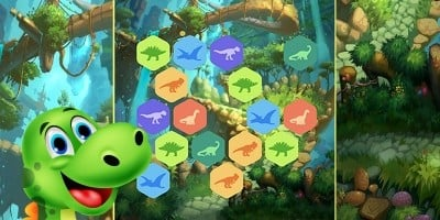 Dino Puzzle Unity Game Template